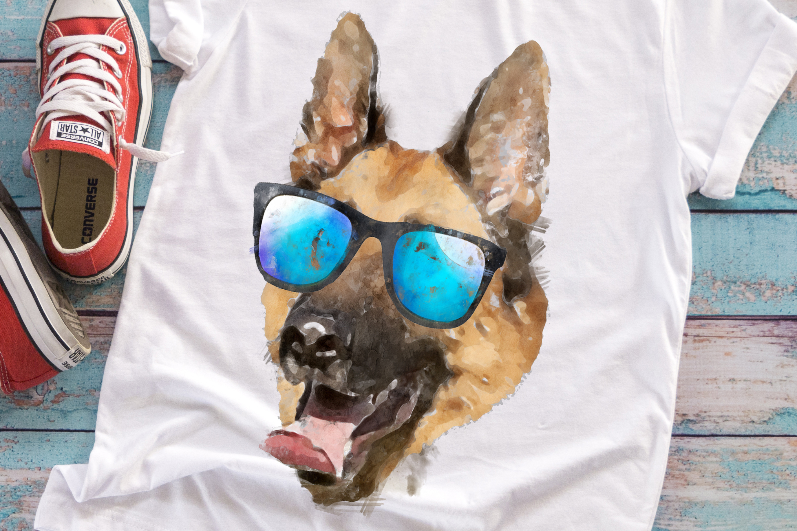 german shepherd sunglasses example image 1