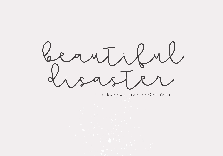 Mini Handwritten Script Font Bundle - 10 Fonts example image 7