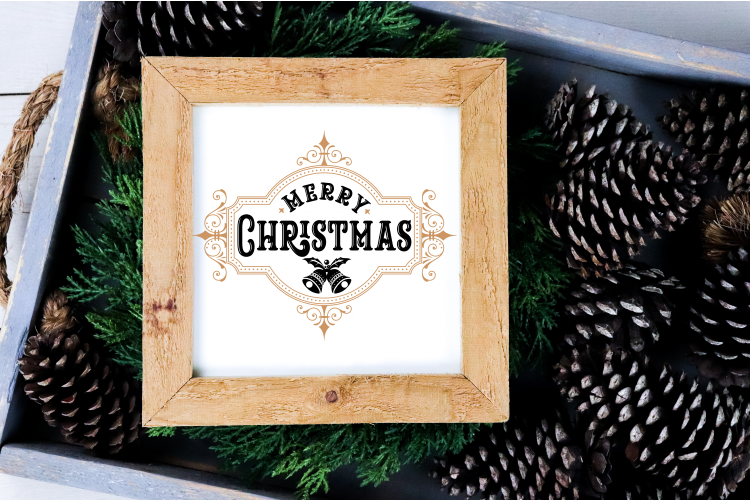 Merry Christmas SVG Cut file example image 2