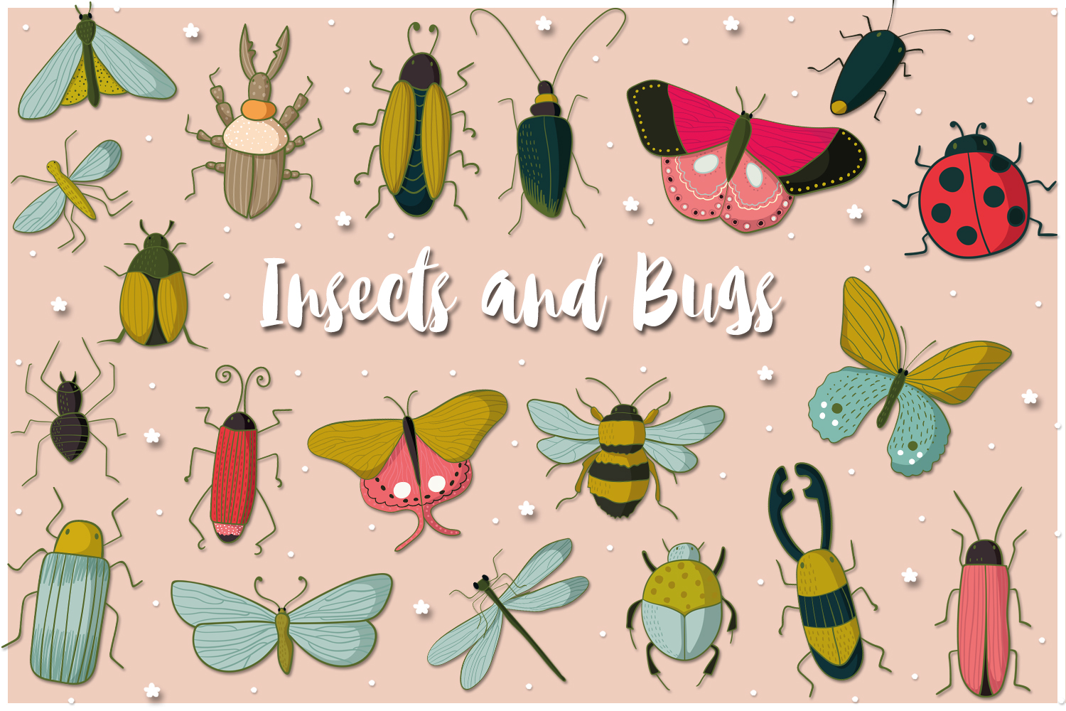 Insects and Bugs example image 1