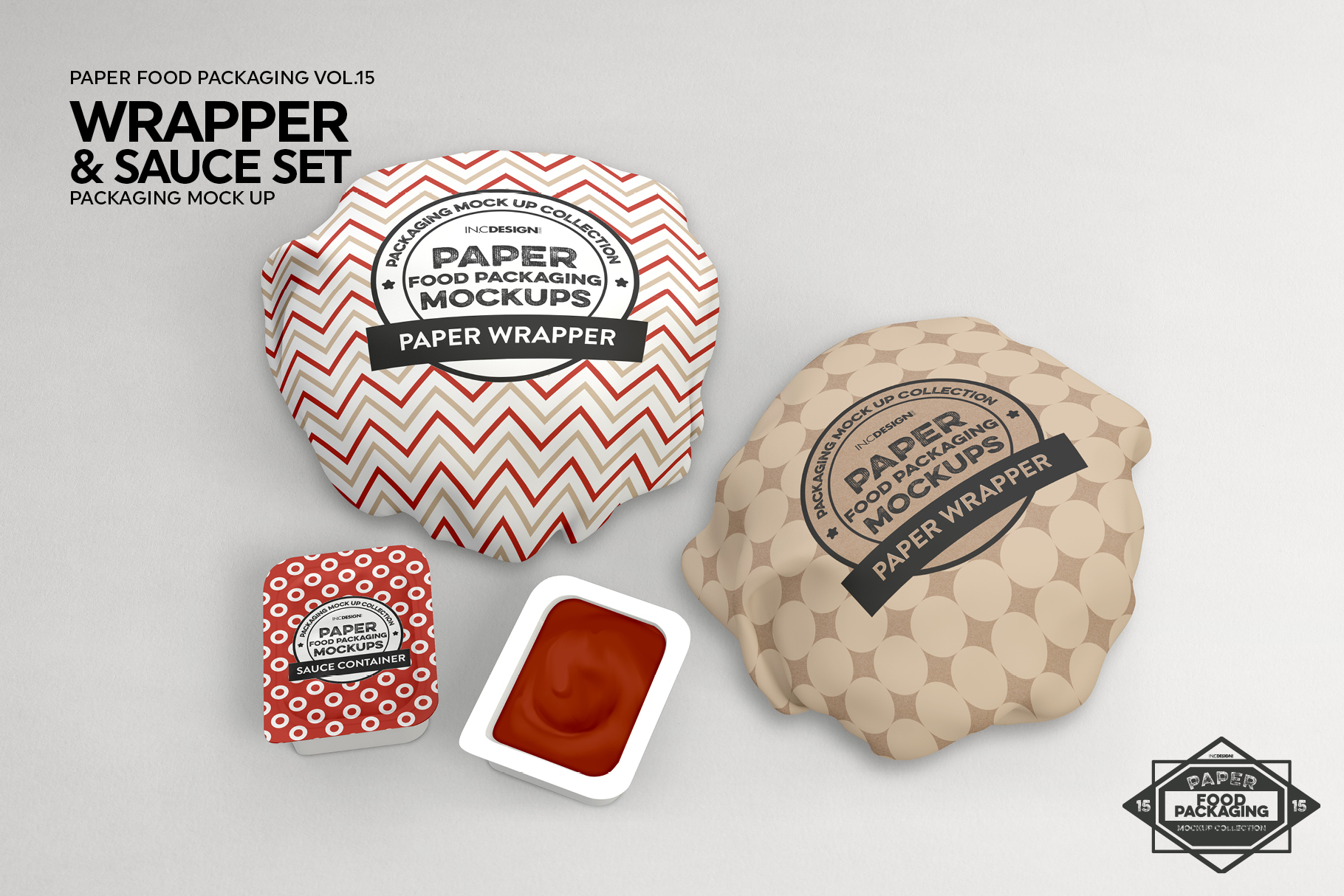 VOL.15 Food Box Packaging MockUps example image 15