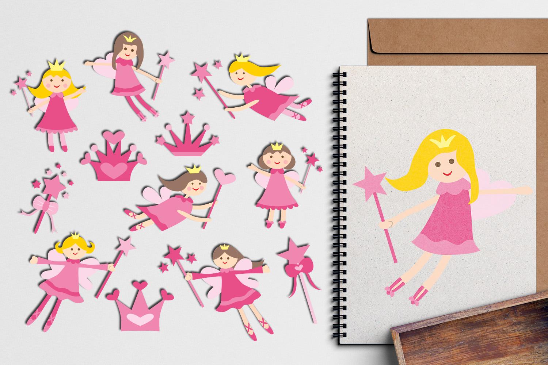 Just For Girls Clip Art Illustrations Huge Bundle example image 21