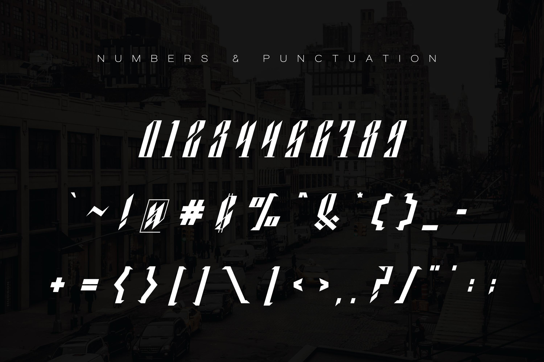 Blackburn Font example image 12