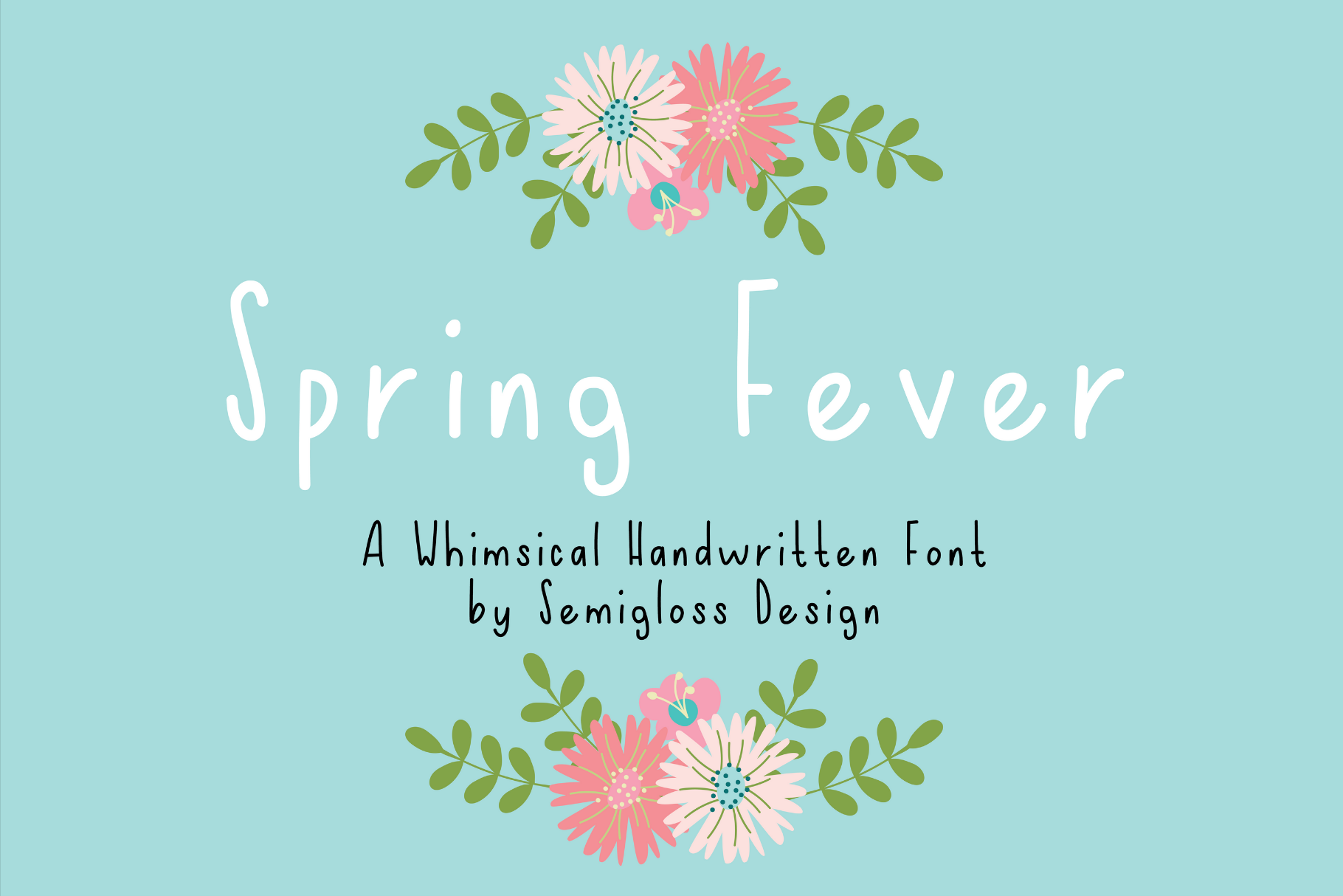 Spring Fever - A Handwritten Font example image 1