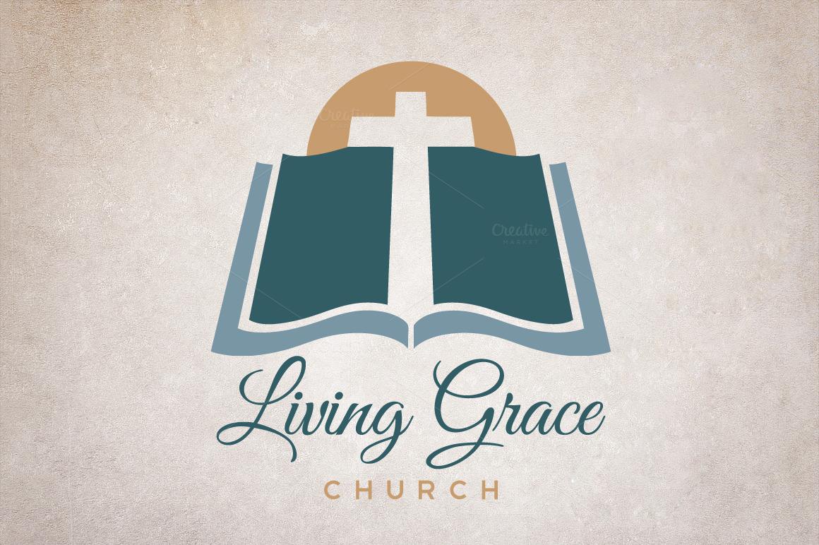 Church Bible Logo example image 2