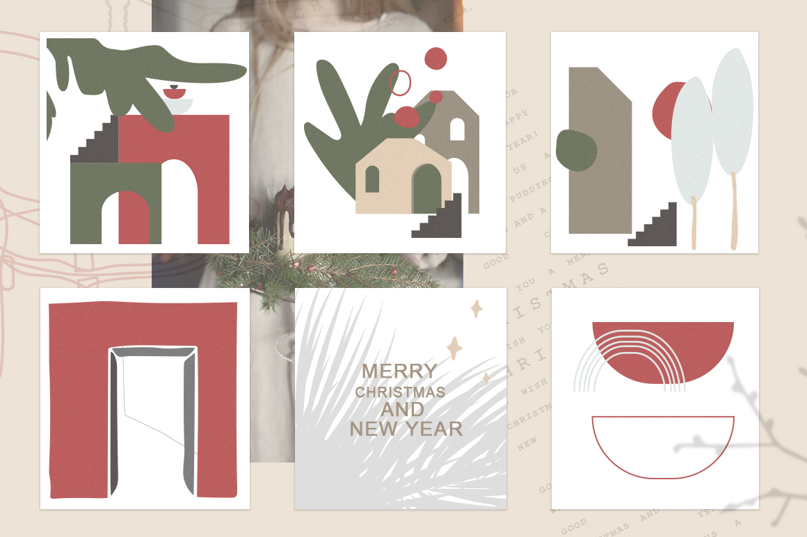 Christmas Secret Modern Graphic Set example image 12