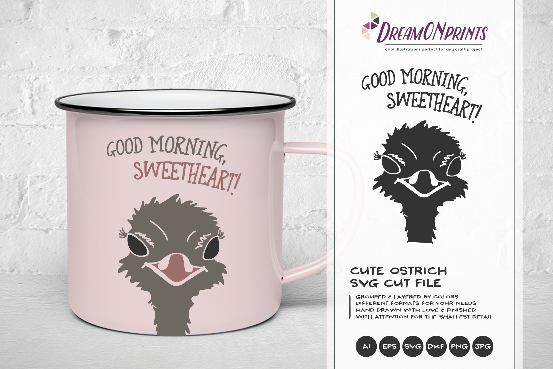 The Quirky Animals | Funny SVG Bundle example image 11
