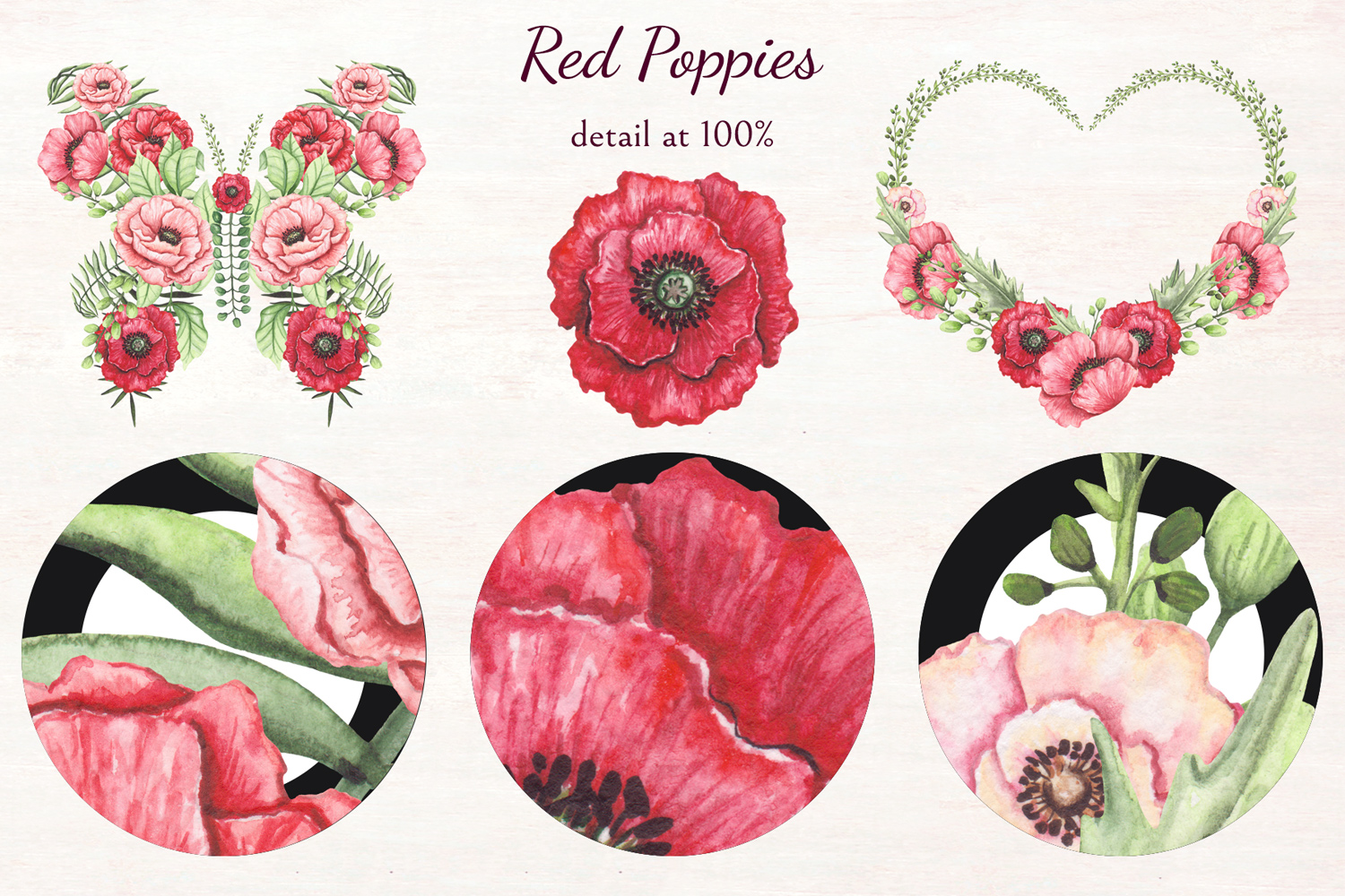 Red Poppies example image 10