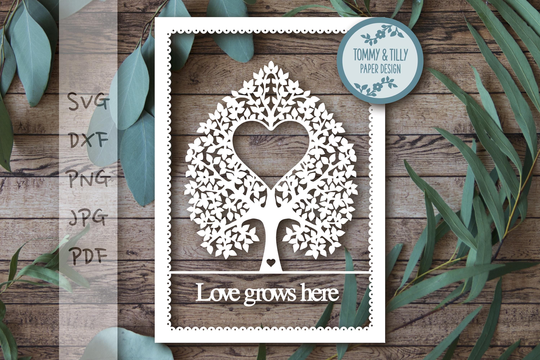 MEGA BUNDLE! Family Tree Cut Files - SVG | Papercut example image 13