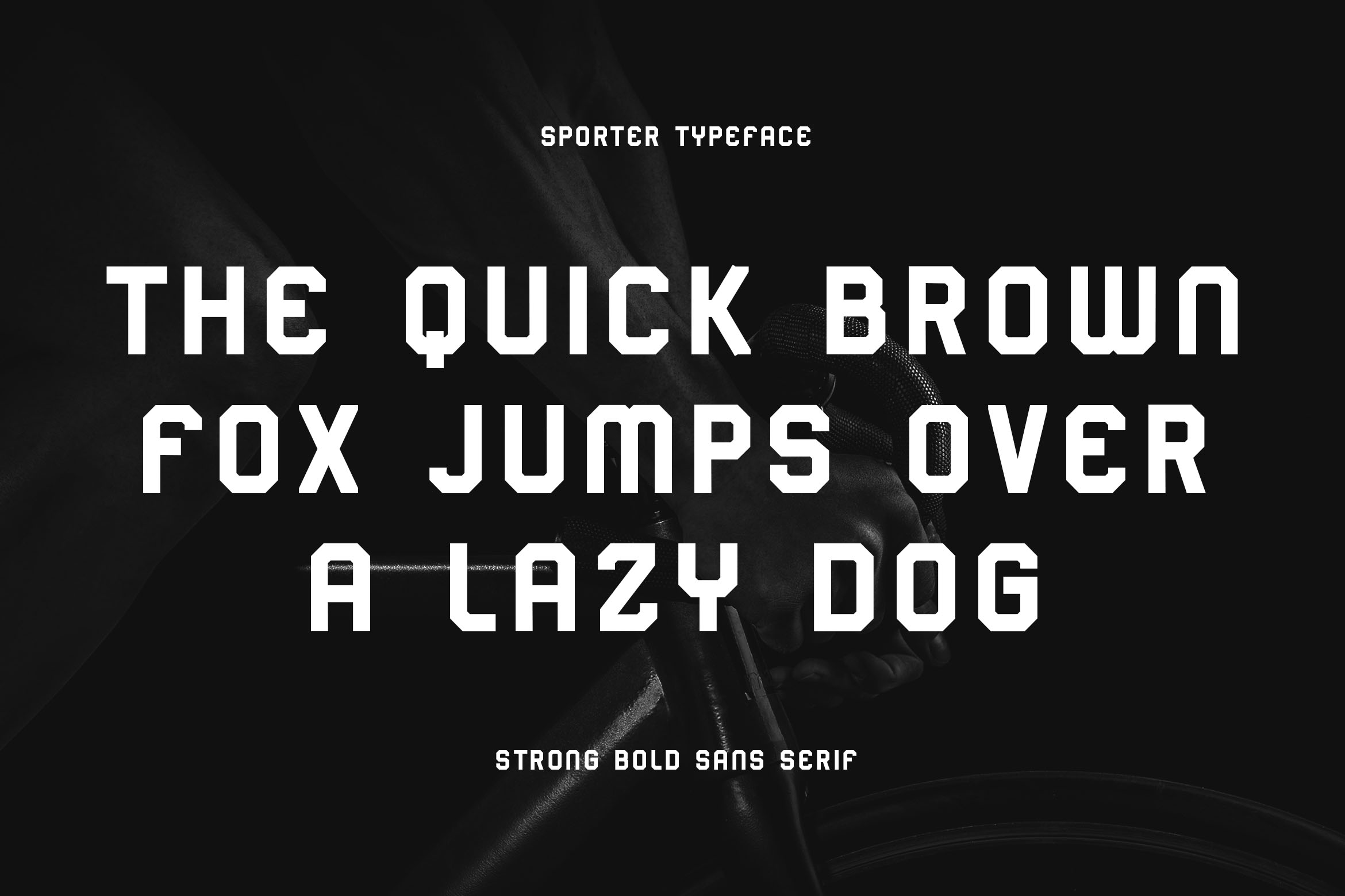 Sporter - Sporty Display Typeface example image 3