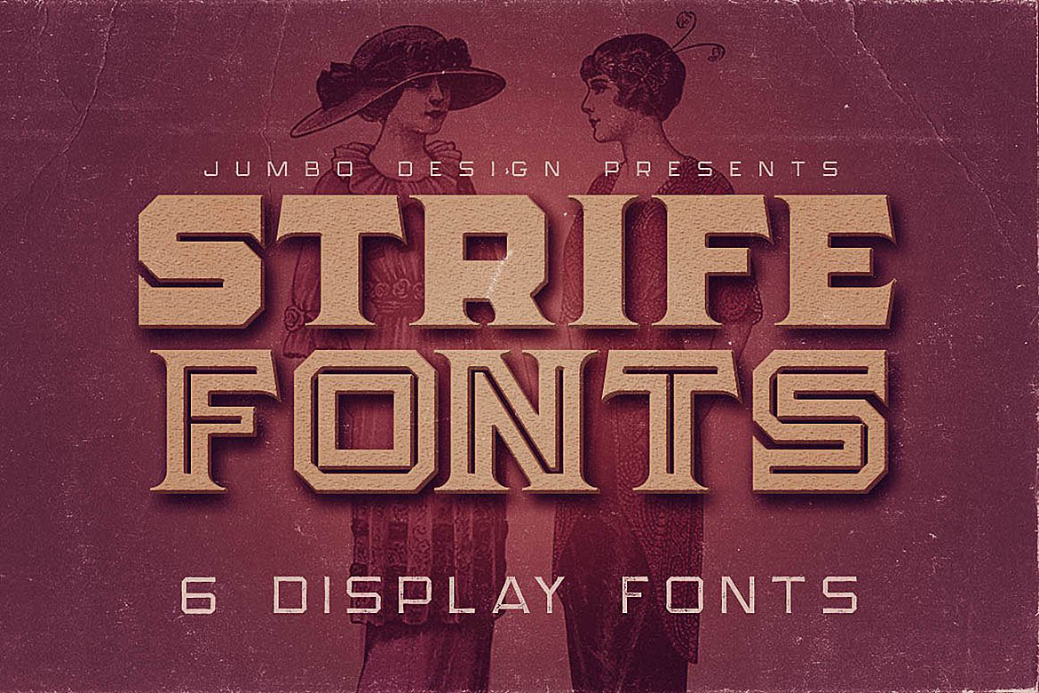 Strife - Display Font example image 1