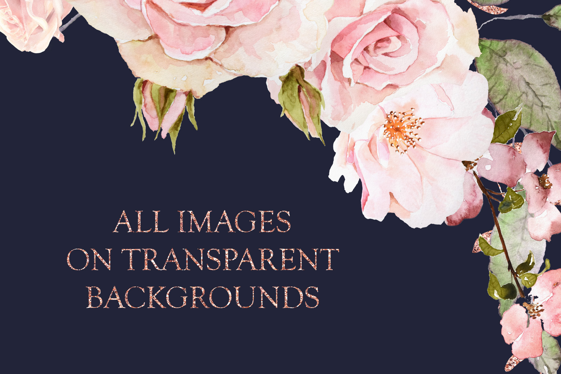 Pretty in Pink Watercolor Collection example image 14