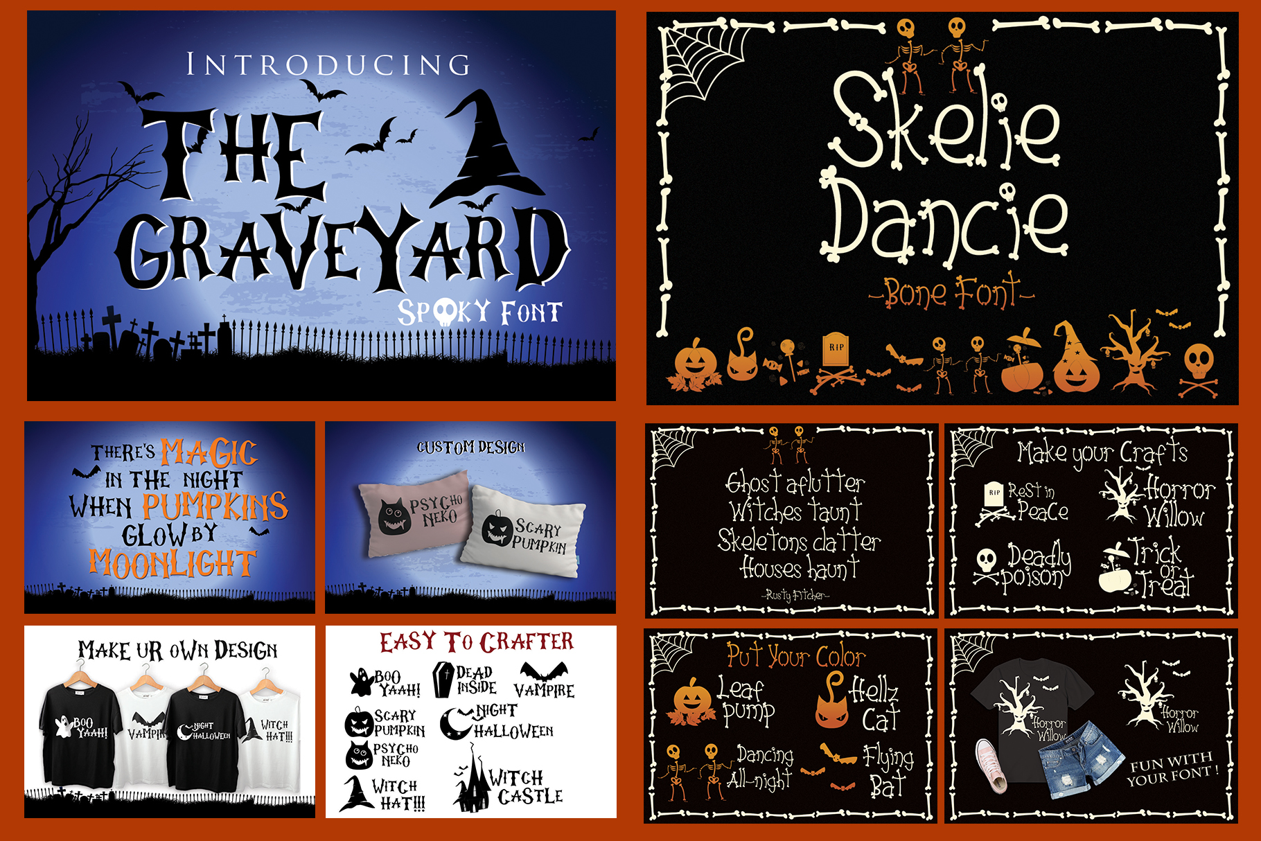 Best SELLER - Halloween Crafting Font BUNDLE example image 3