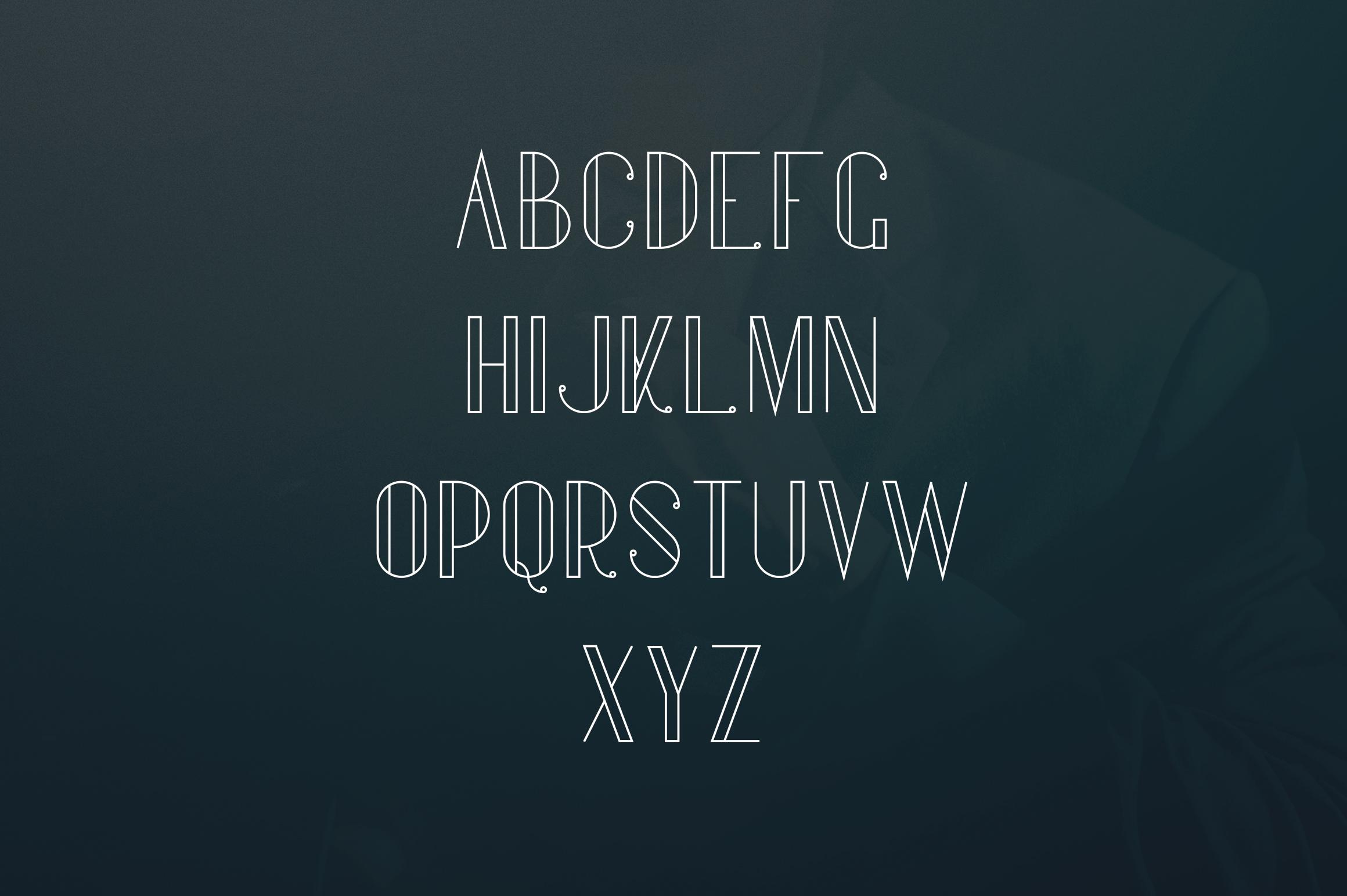 Gentleman font  10 Logo Templates example image 5