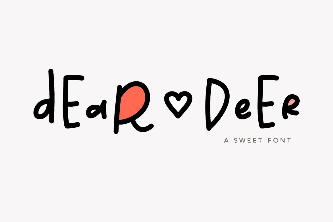 Dear Deer Font example image 1