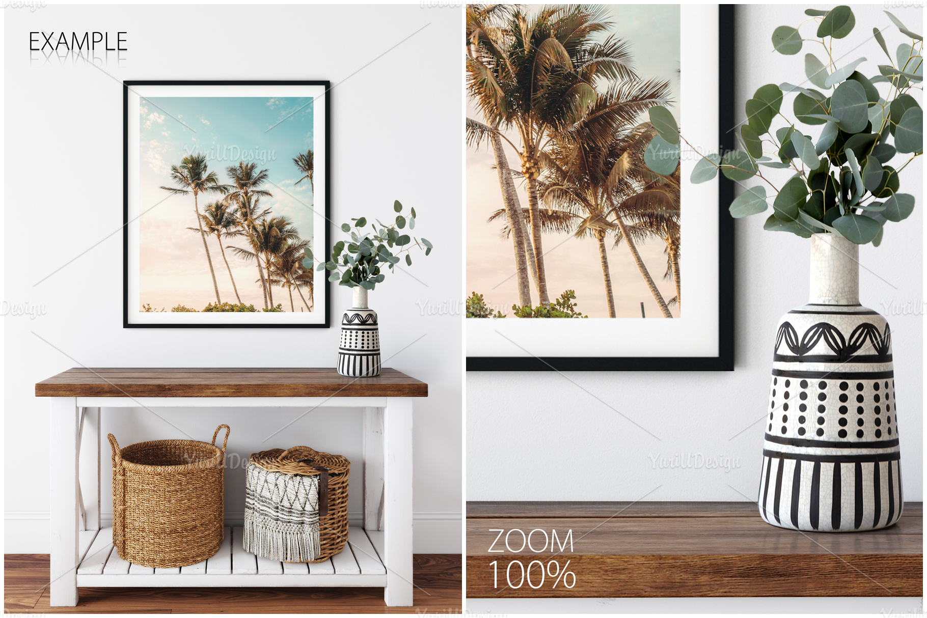Frames & Walls Coastal Mockups Bundle example image 12
