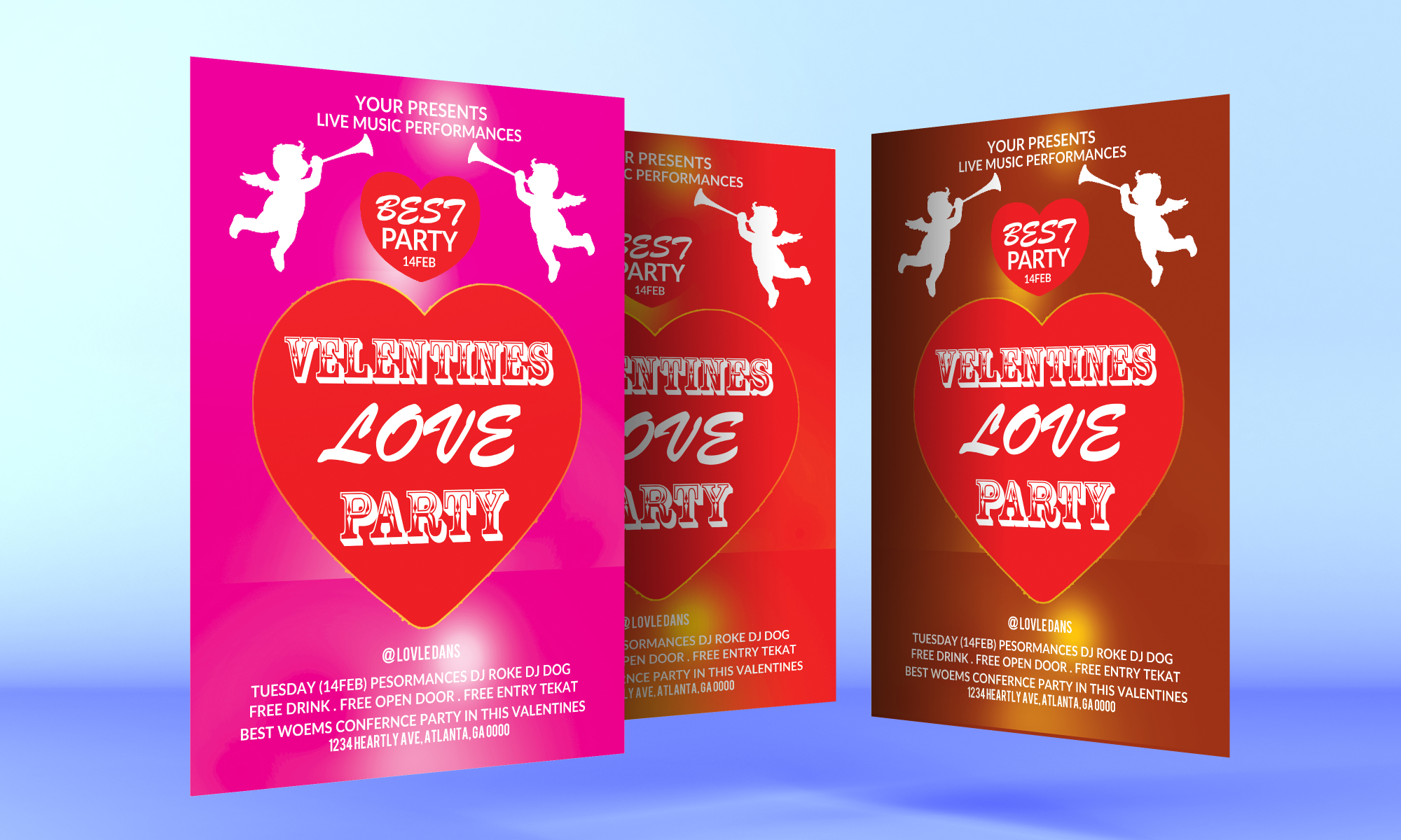 Valentines Love Party example image 1