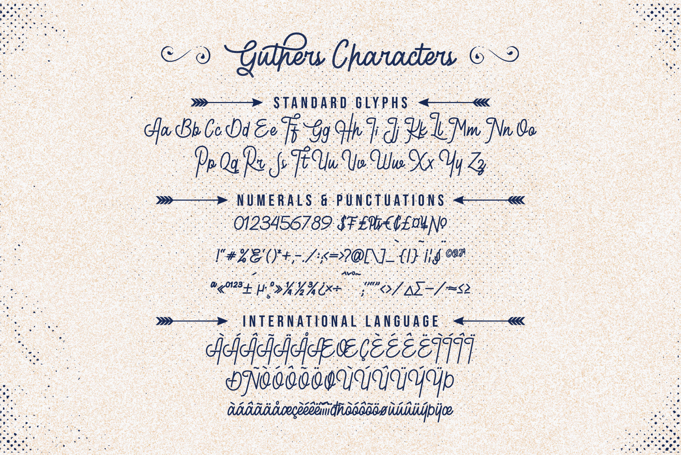 Guthers - Monoline Script Font example image 9