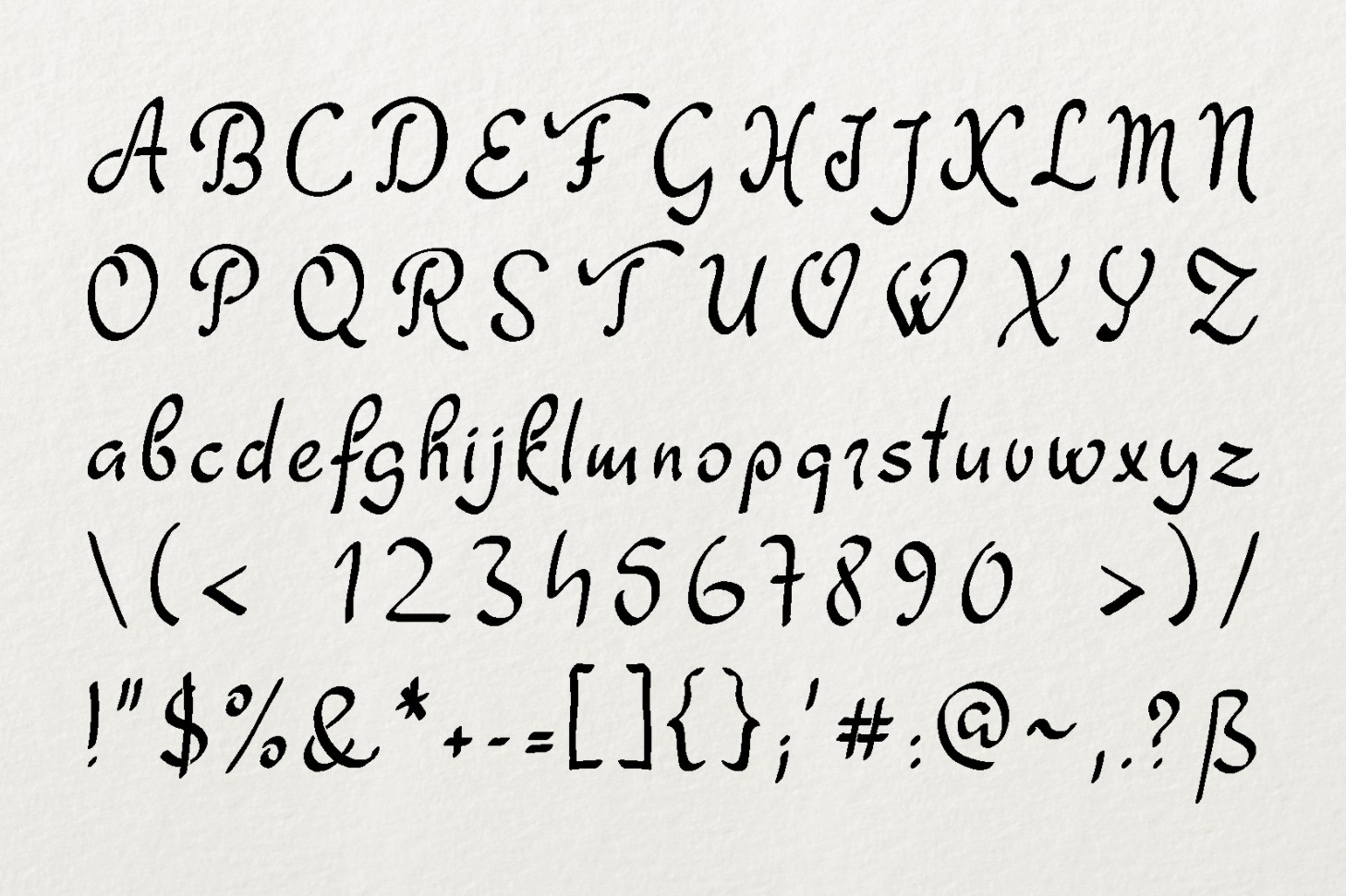 Dathyn Font example image 3