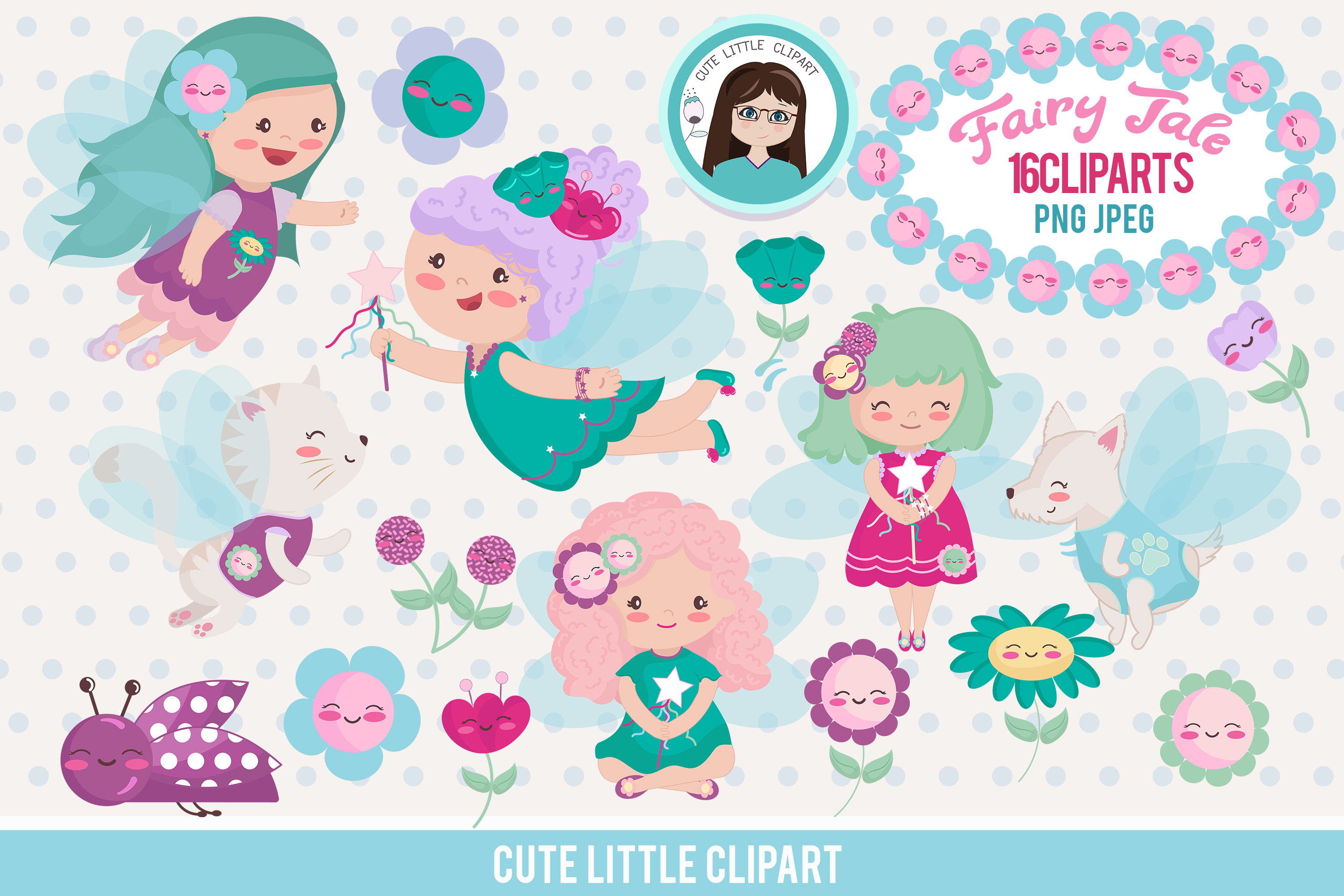Big Bundle Clipart Volume 2 example image 7