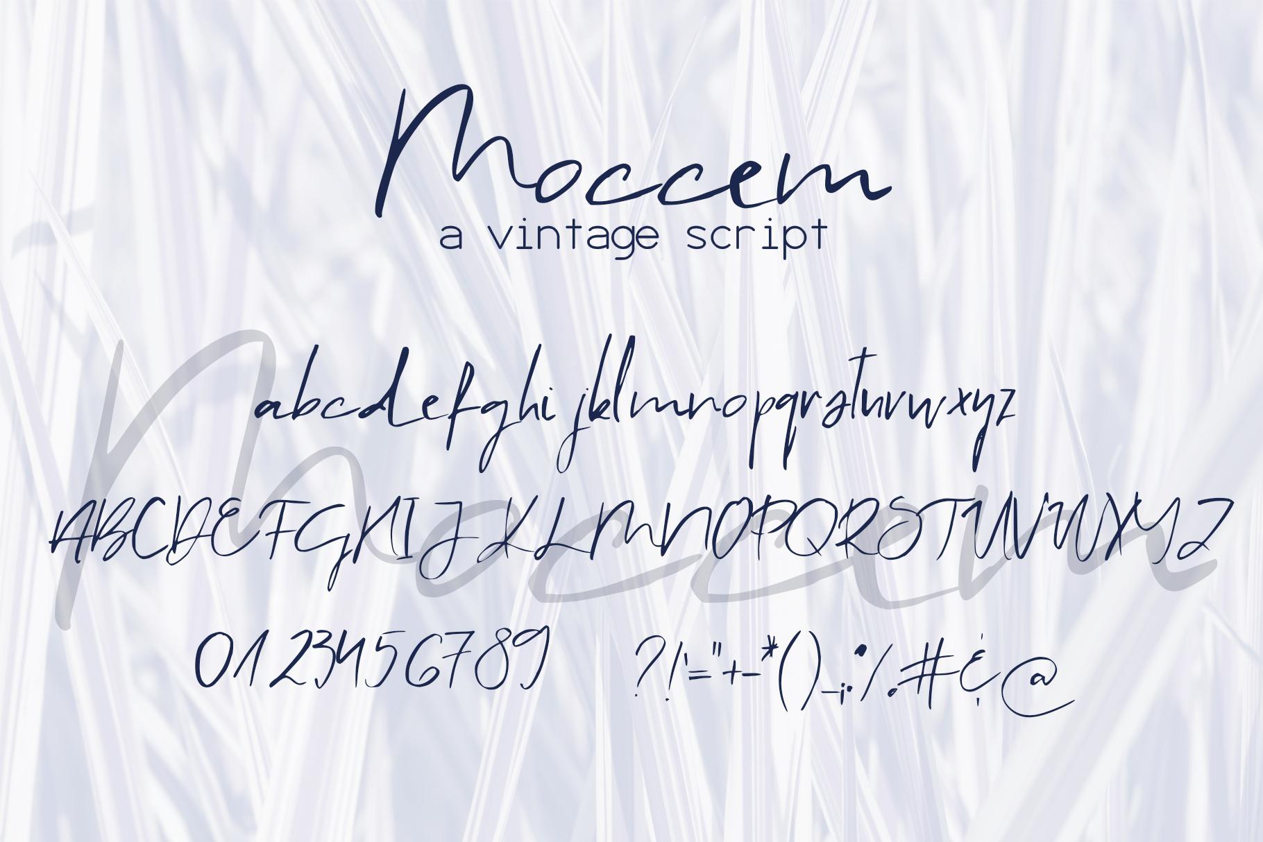 Moccem Font example image 9