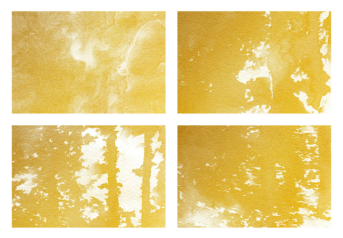 Watercolor Textures White and Gold example image 7