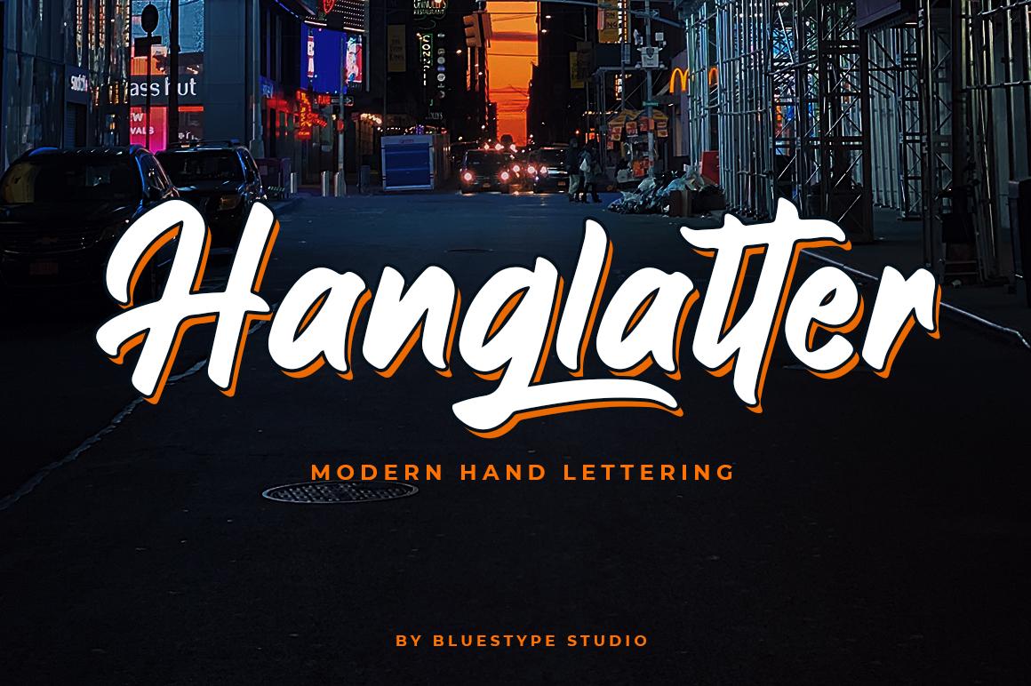 Hanglatter - Modern Calligraphy example image 1