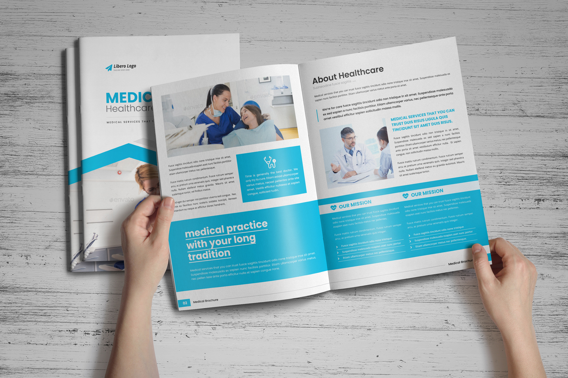 Medical HealthCare Brochure v6 example image 2
