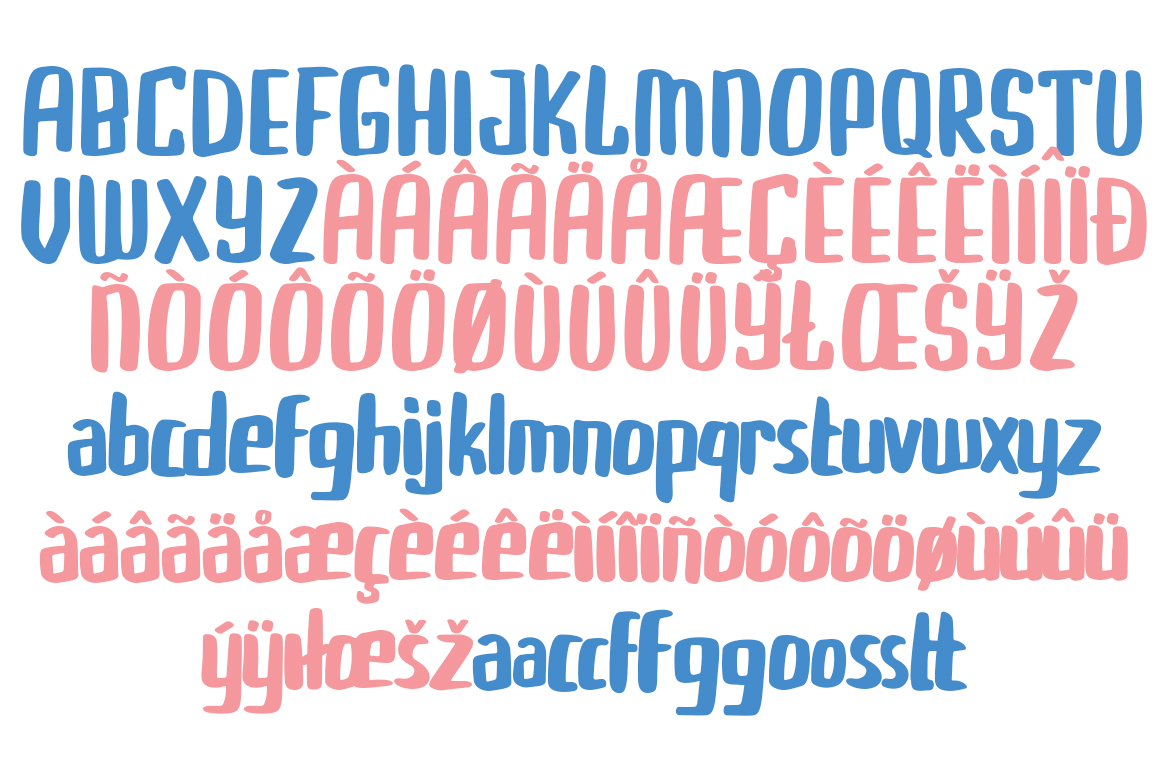 Buggiel - Bold and Fun Font example image 9