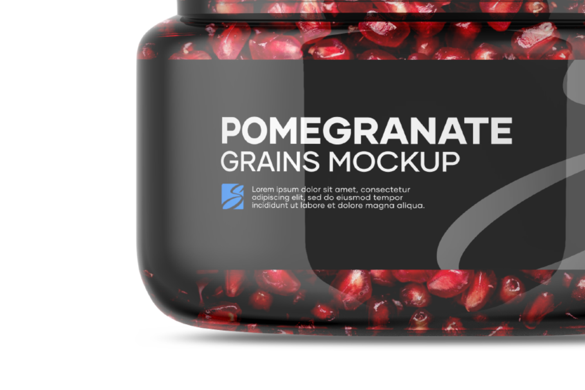 Pomegranate Grains Mockup example image 4