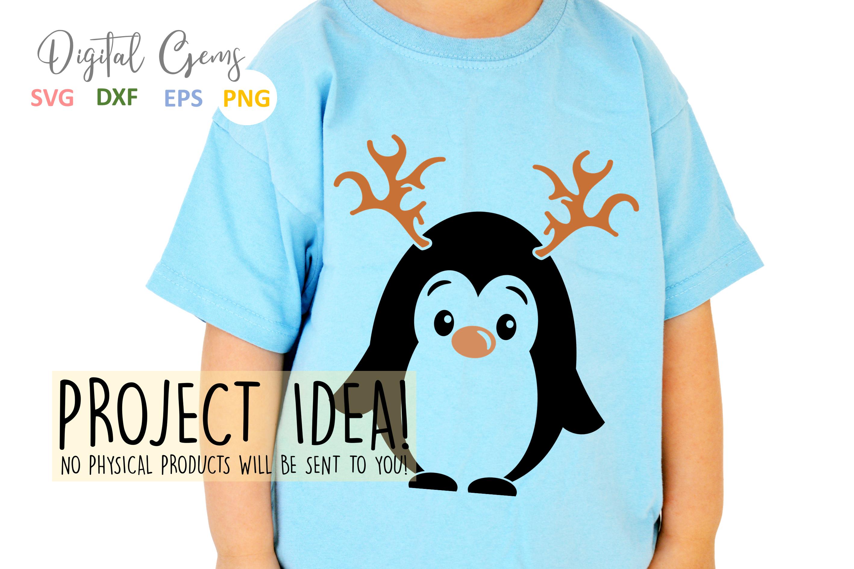 Penguin Reindeer, Christmas designs example image 6