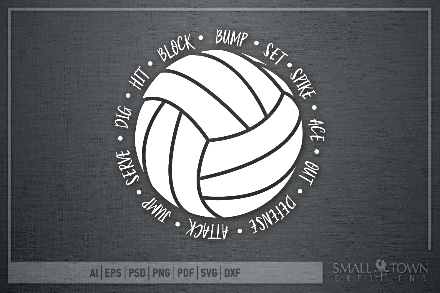 Volleyball, Ball, Sport, Team, Logo, PRINT, CUT & DESIGN example image 5