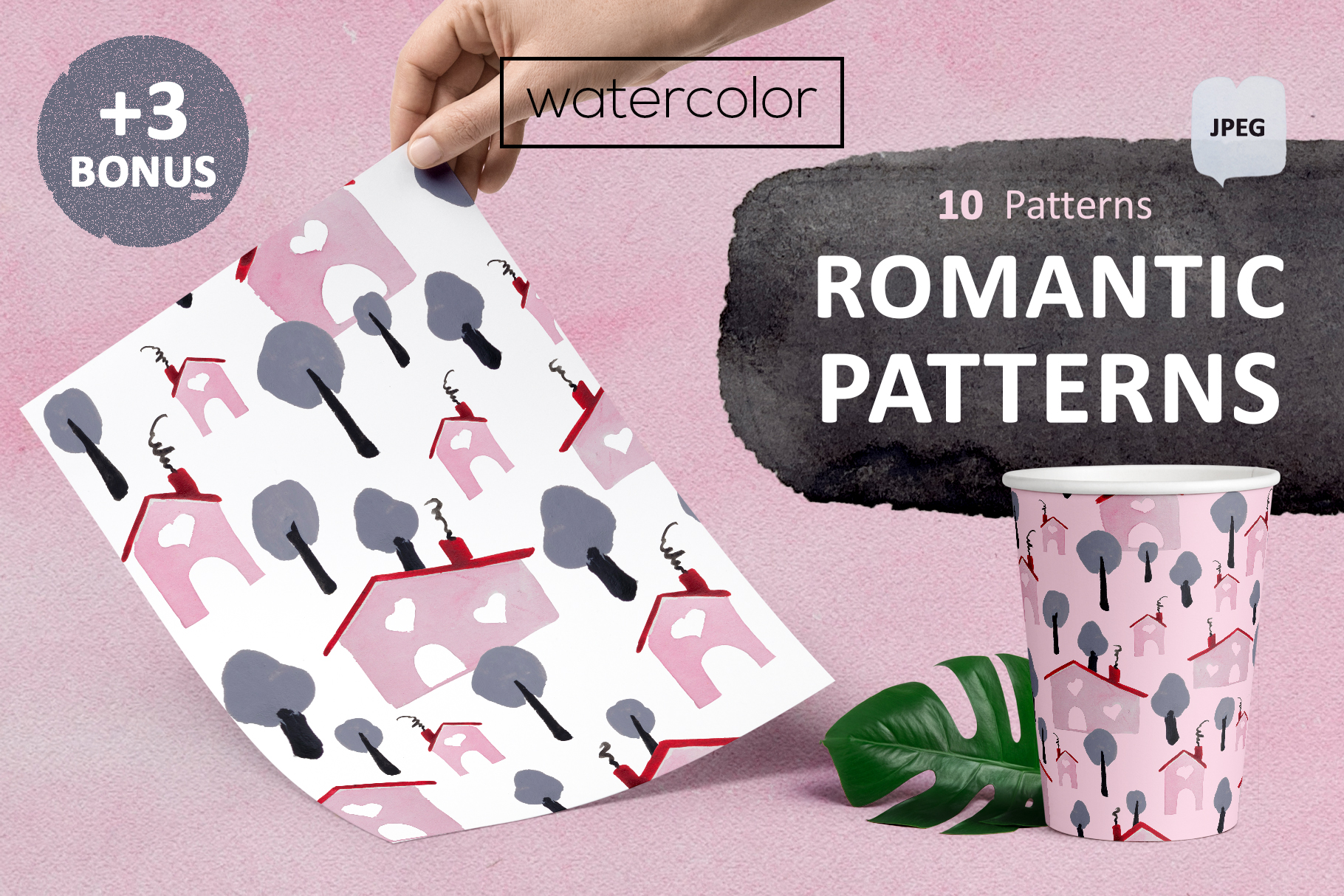 Romantic patterns example image 1