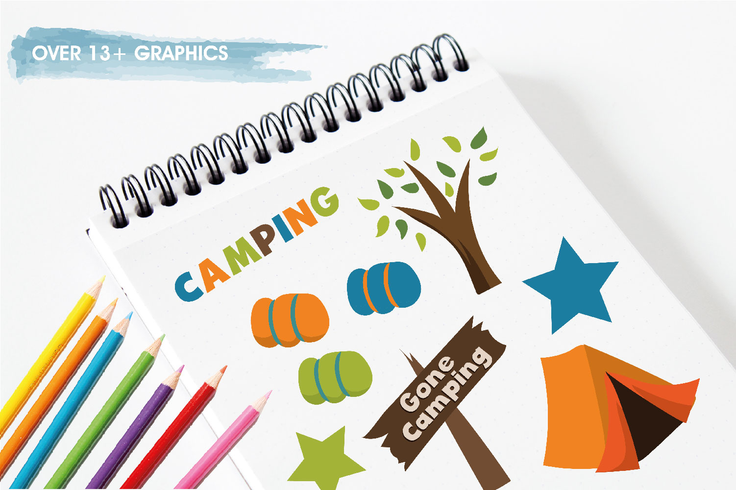 Camping Cute Graphics example image 3