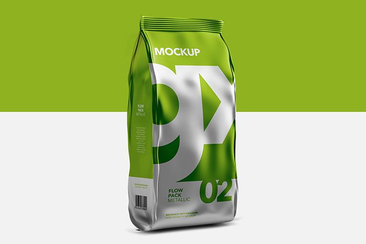 Flow Pack - Mockup - Metallic example image 1