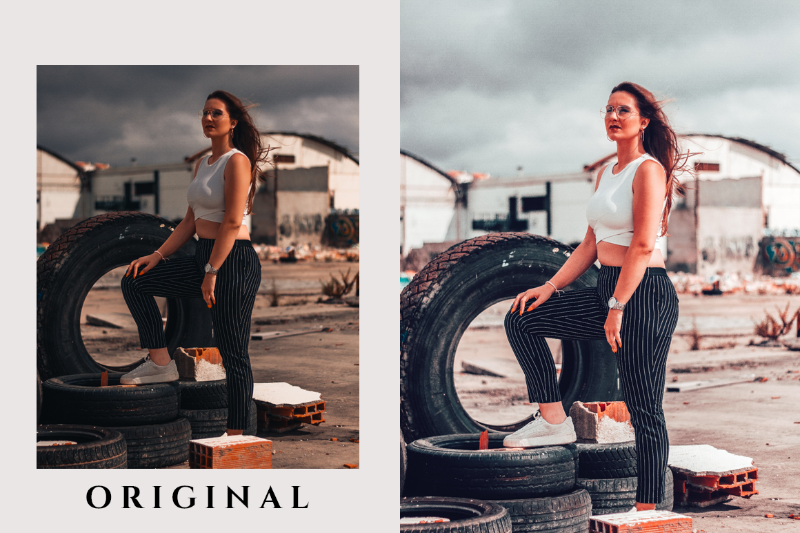 800 Plus Lightroom Mobile Presets Pack example image 5