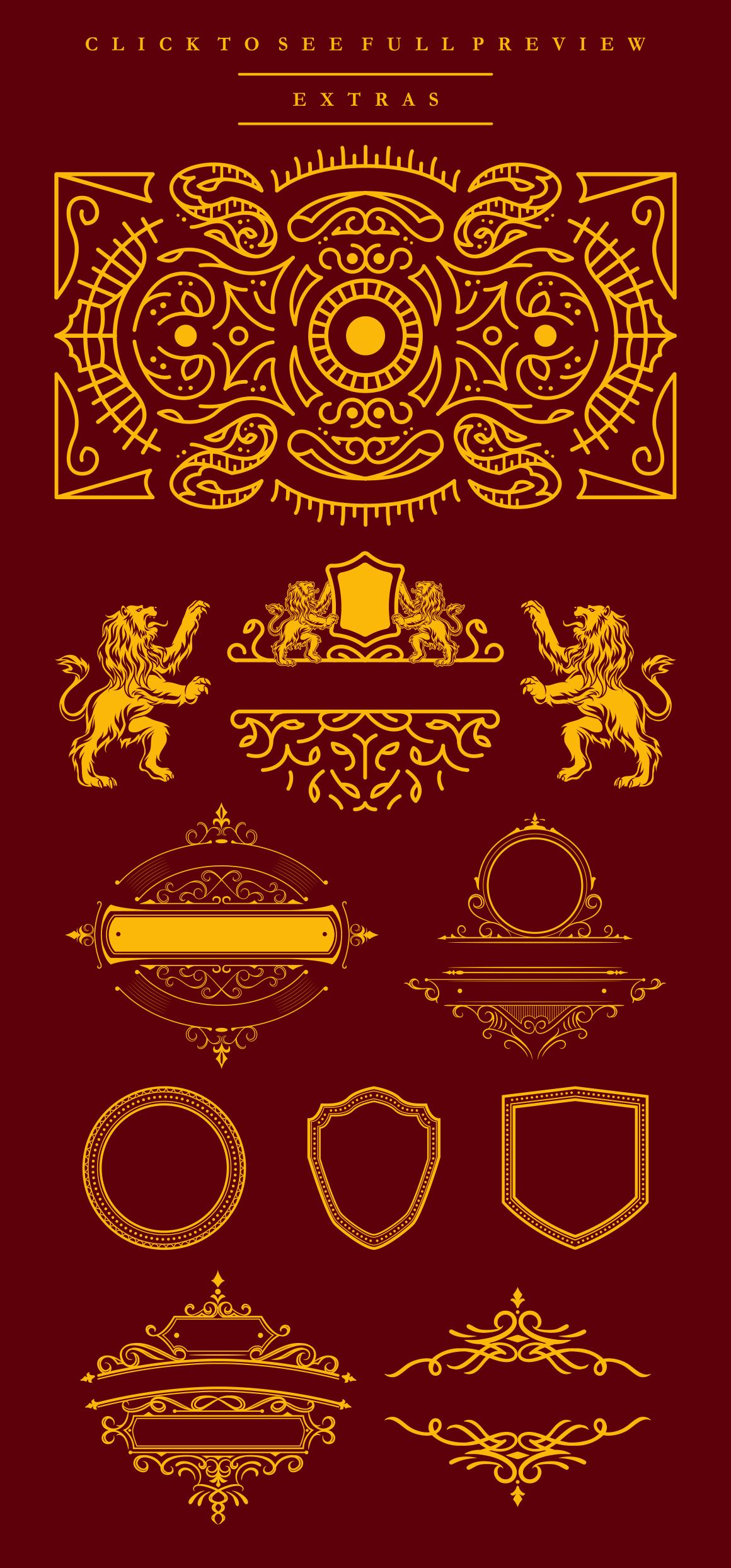 Barakah Typeface  Extras example image 10