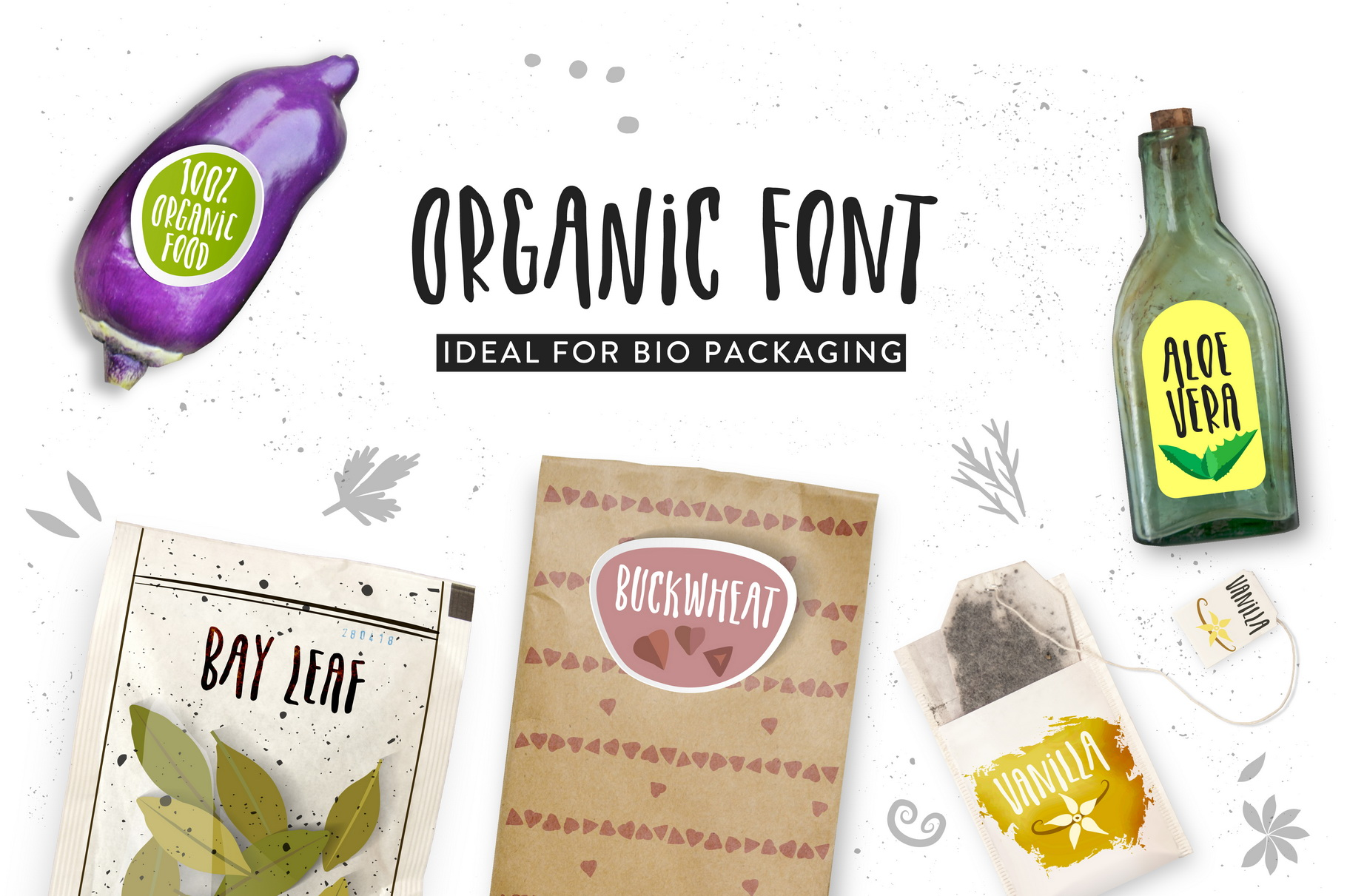 Organic Font example image 4