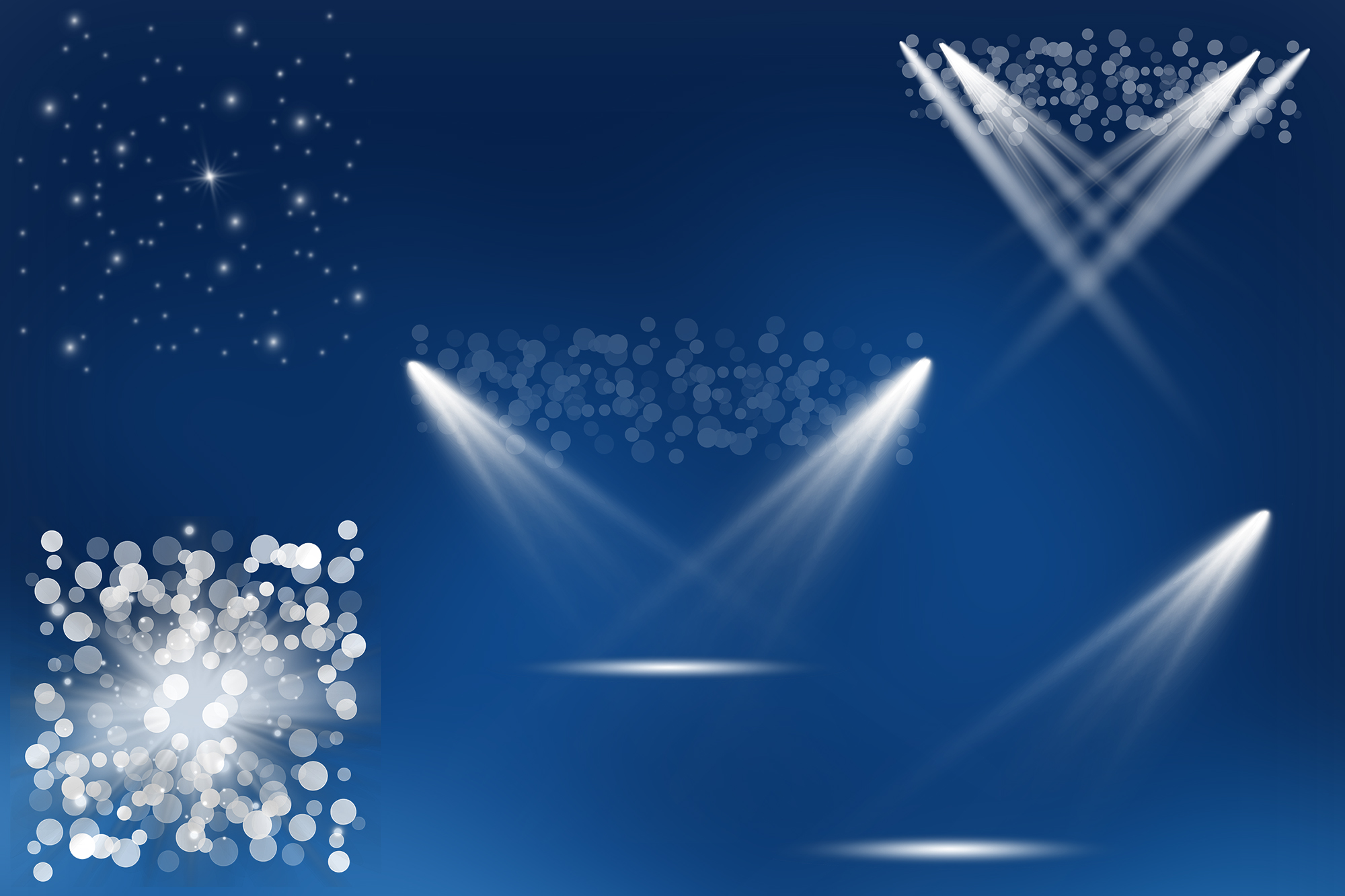 Stage Lighting Overlays, Spotlight Effects example image 3