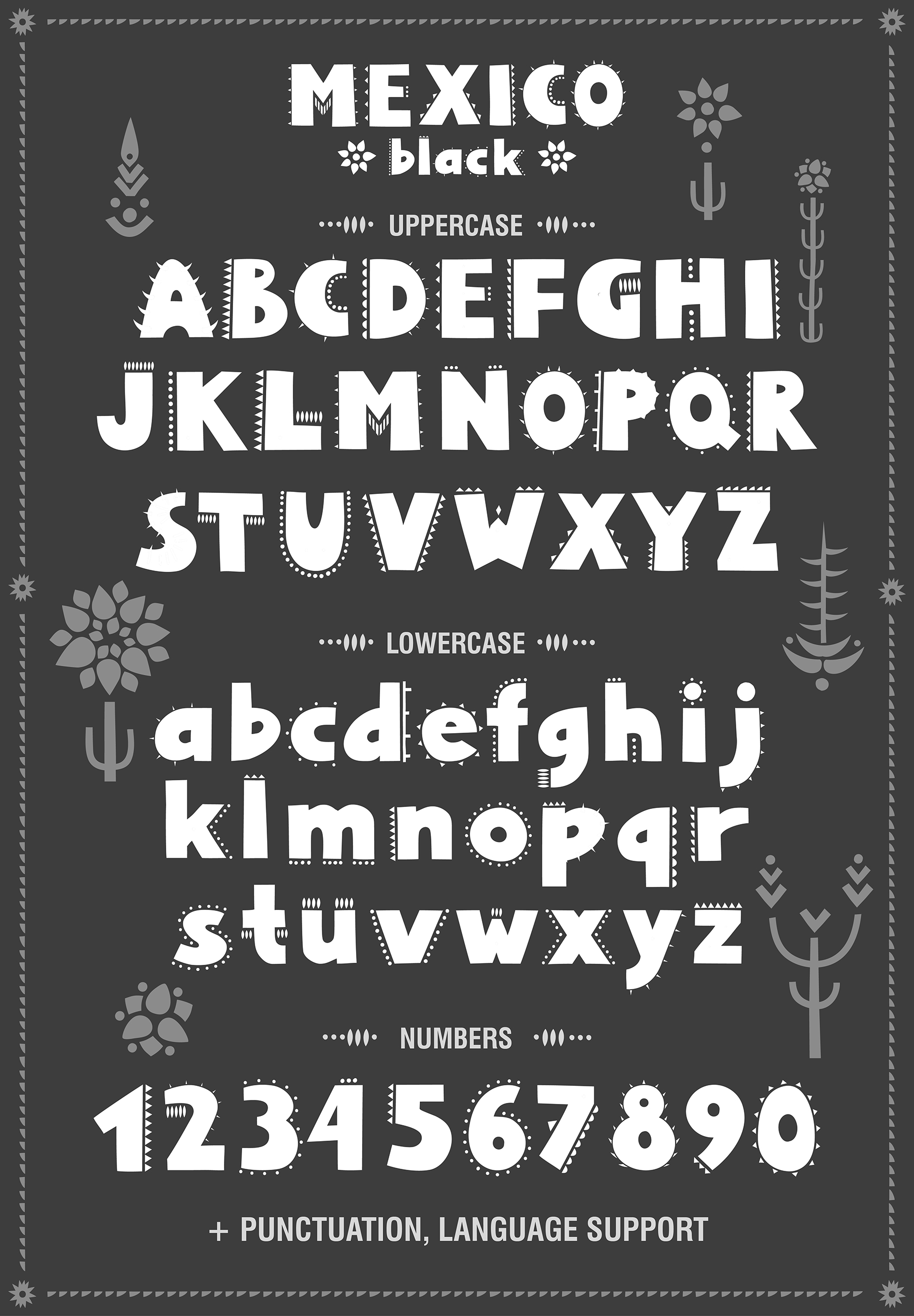 Mexico - Font Family example image 3
