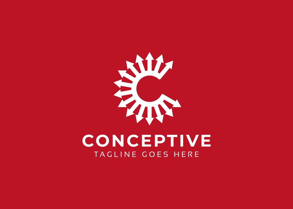 Conceptive C Letter Logo example image 2