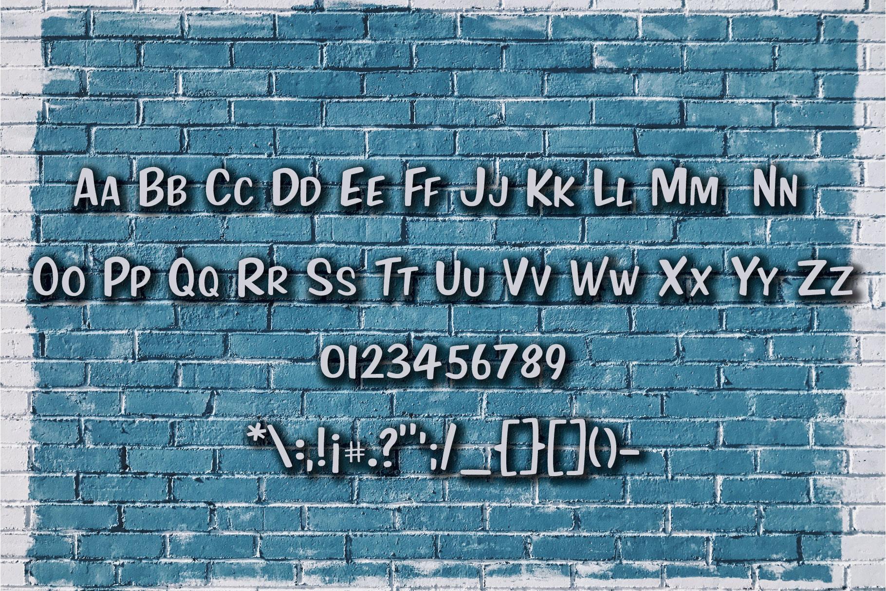 Nineteen Sans Serif example image 4