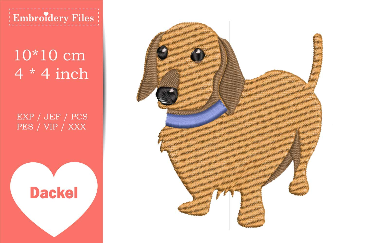 Dogs - Mini Bundle - Embroidery Files example image 5