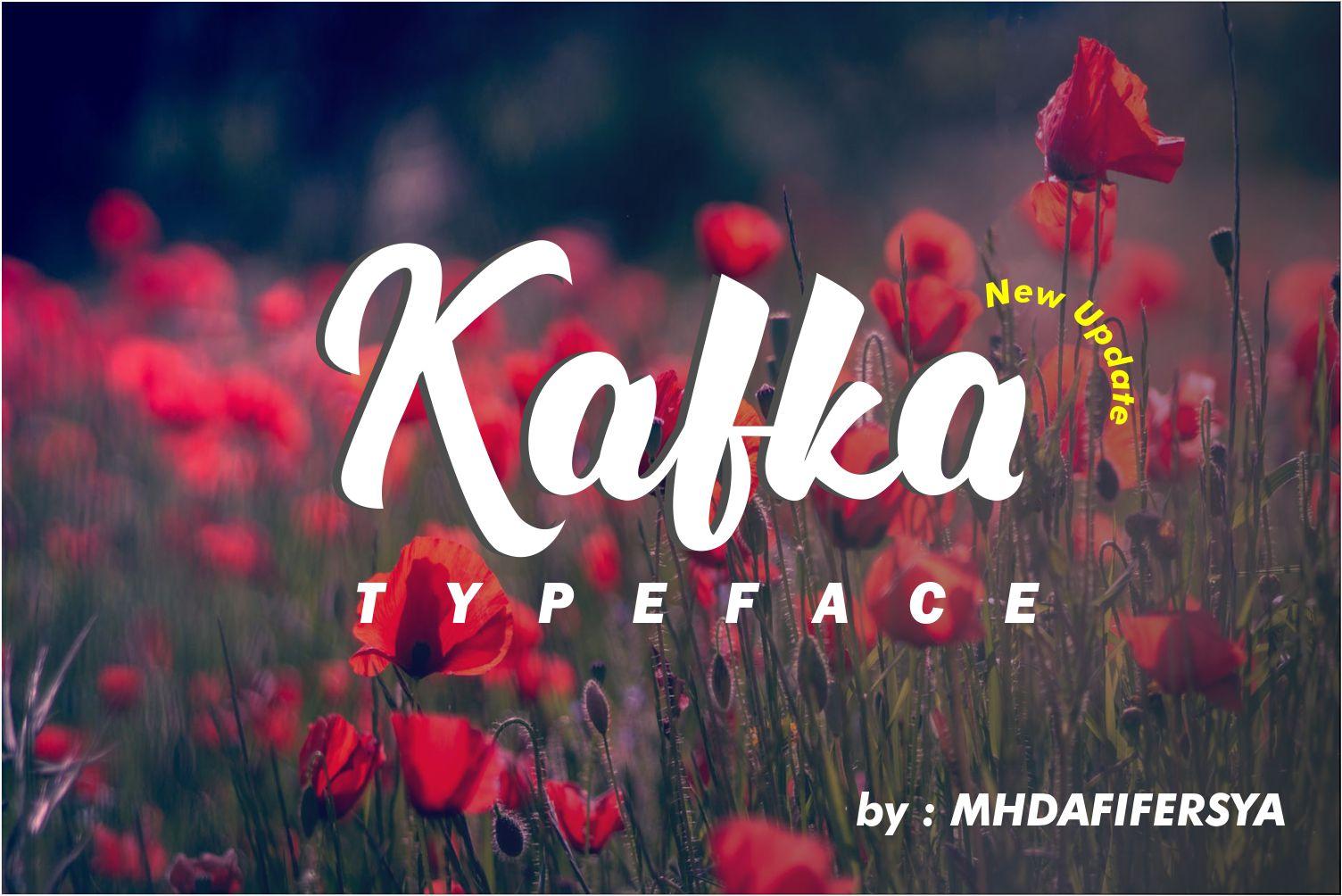 Kafka Typeface Update example image 1
