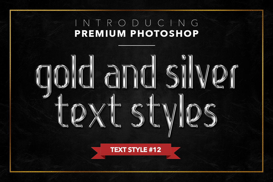 Gold & Silver #1 - 20 Text Styles example image 13