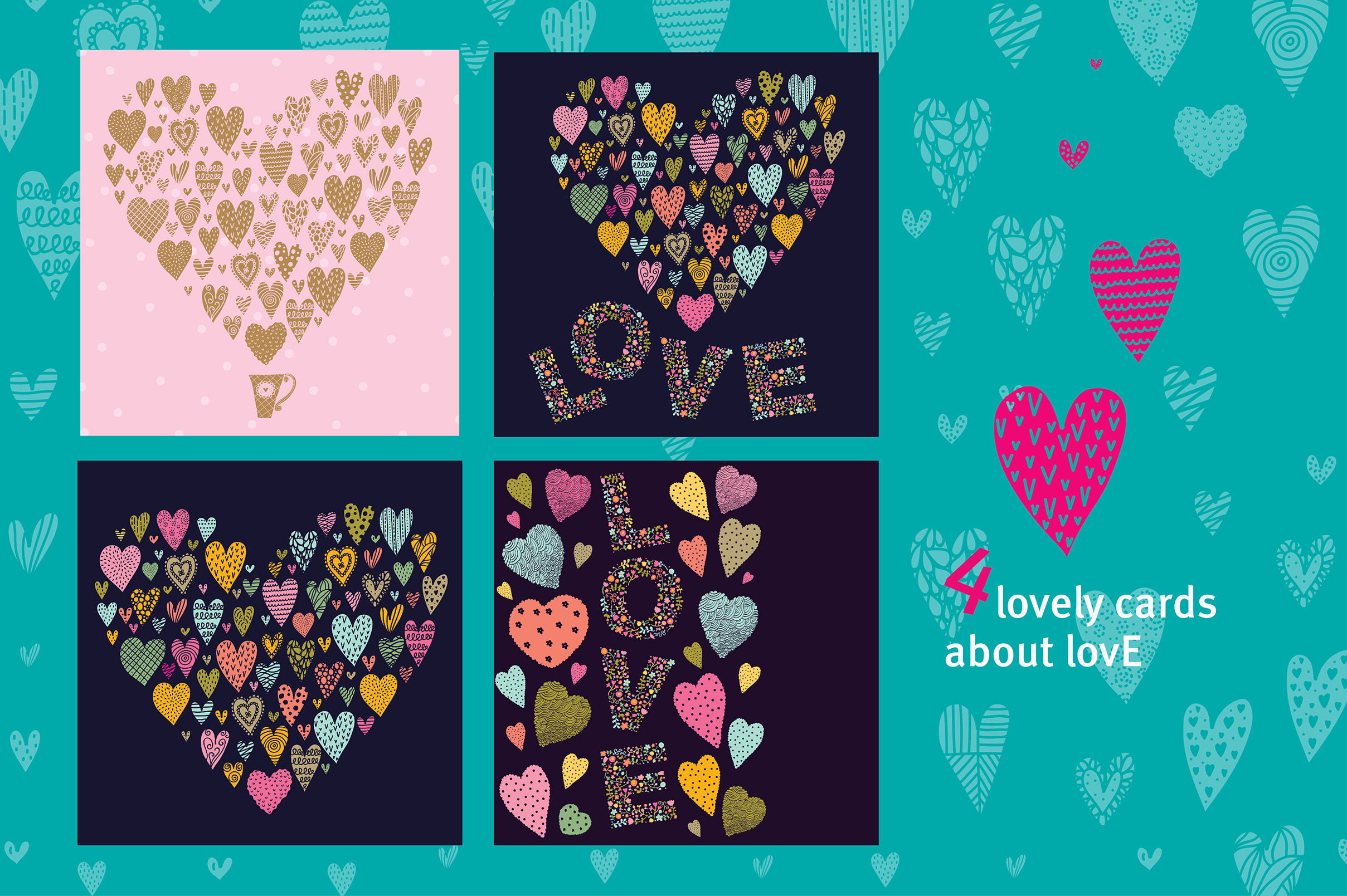Love and hearts. example image 4