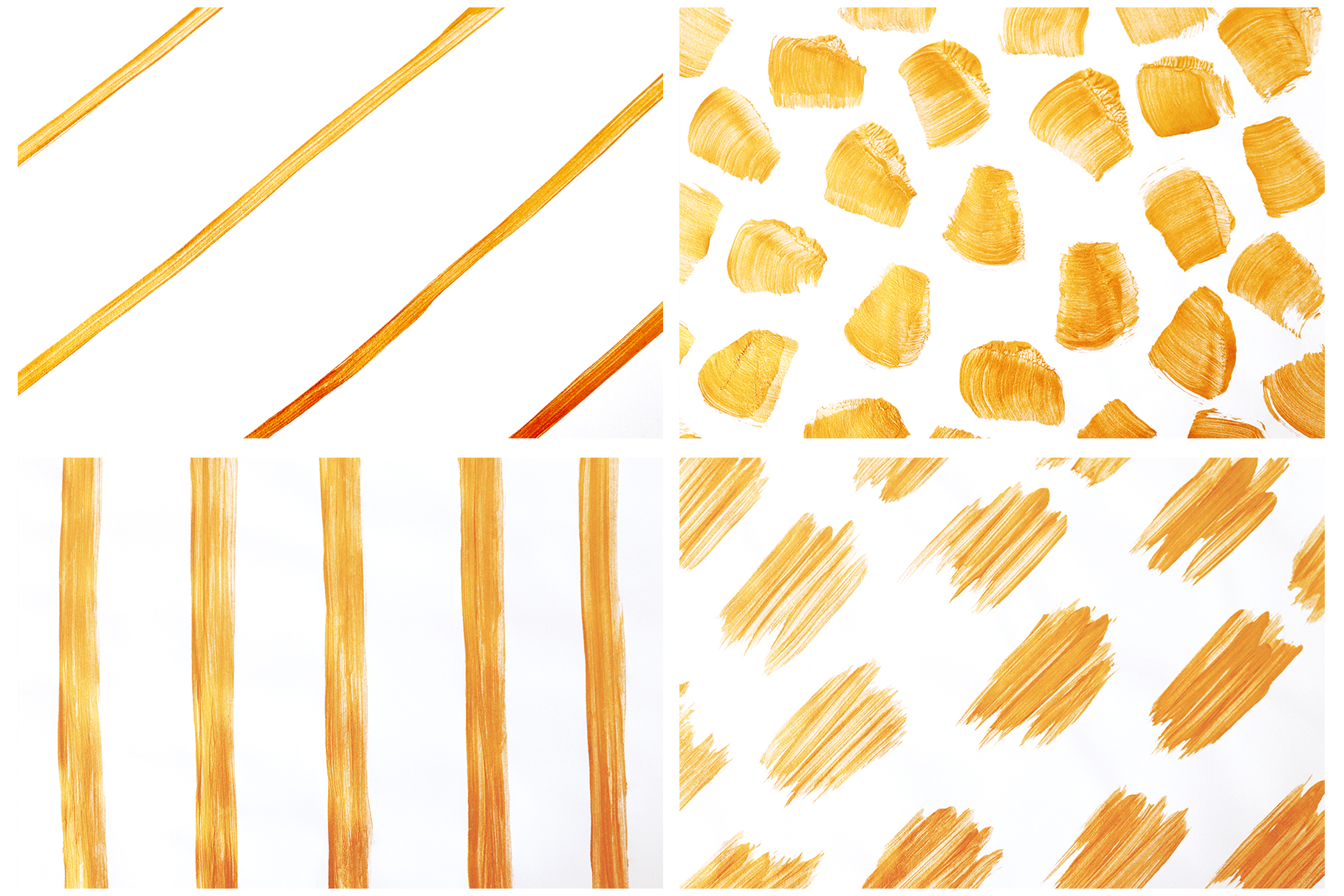 Gold & White Backgrounds, Wedding Invitation Papers example image 2