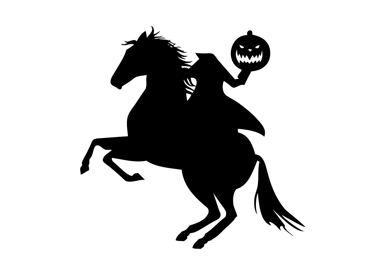 Headless Horseman svg example image 2