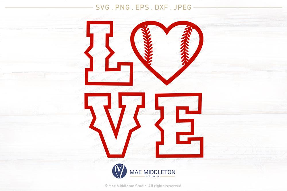 Baseball LOVE, Baseball Mom, Baseball Dad example image 8