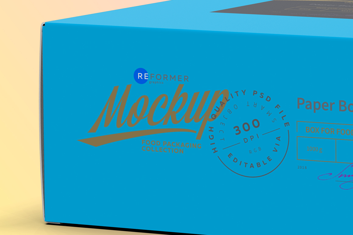 Two Cardboard Box Mockup example image 2